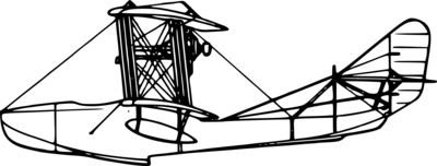 liftarn Grigorovich M 5 aircraft  side view