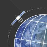 Satellite Orbiting Earth Thumbnail
